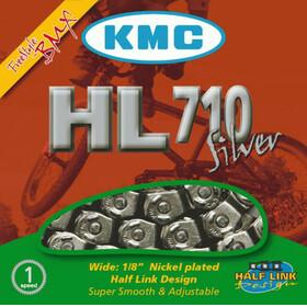 KMC HL-710 Kette Half Link silver